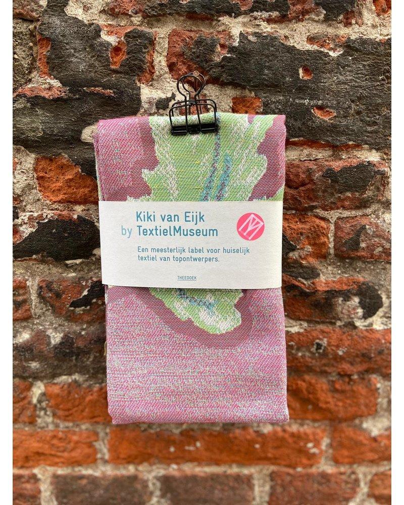 Textielmuseum Theedoek Kiki Van Eijk 'Courgette'