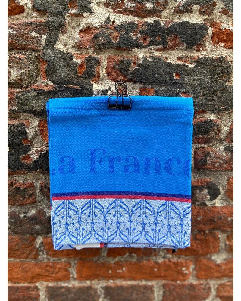 Le Jacquard Francais LJF Balade en France Theedoek 'Blue'