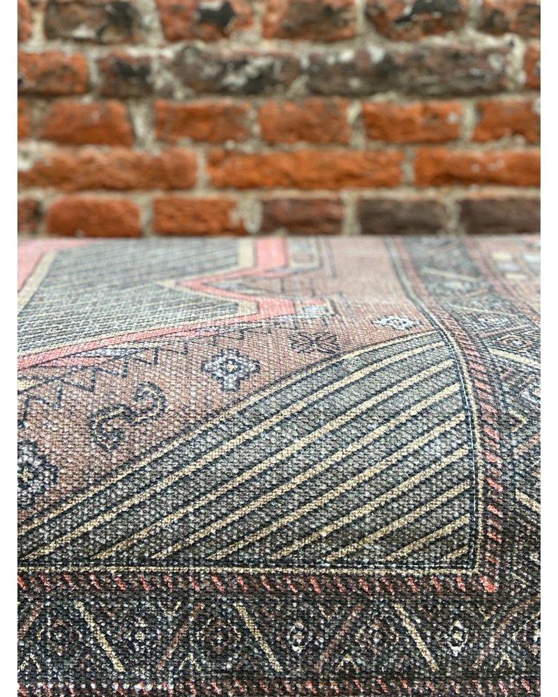HK living HK living Printed Cotton Rug Stonewashed