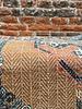 HK living HK living Printed Cotton/Jute Rug Stonewashed