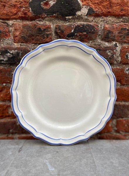 Gien Dinner Plate 'Filet Bleu'