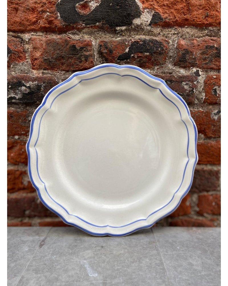 Gien Gien Dinner Plate 'Filet Bleu'