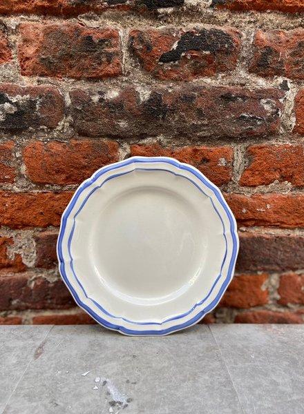 Gien Canape Plate 16 cm 'Filet Bleu'