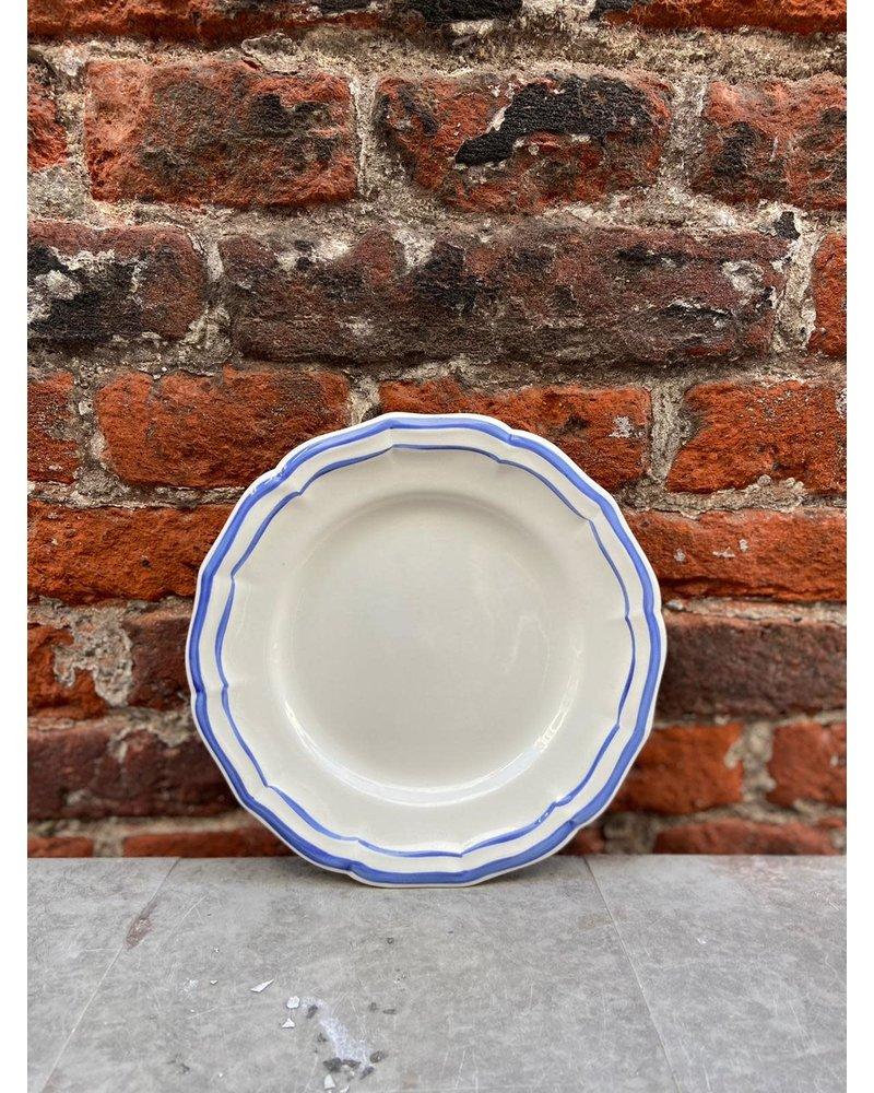 Gien Gien Canape Plate 16 cm 'Filet Bleu'