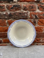 Gien Cereal Bowl 'Filet Bleu'