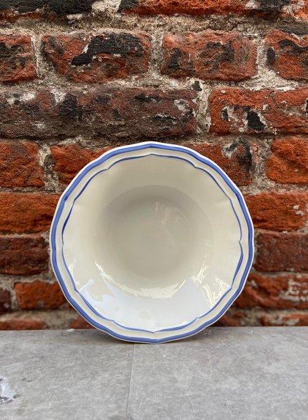 Gien Cereal Bowl 'Filet Bleu'