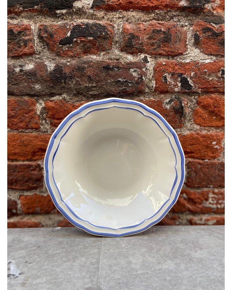 Gien Gien Cereal Bowl 'Filet Bleu'