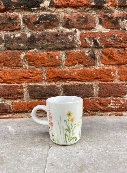 Kahla Wildblume Espressomok 'Rood/Geel'