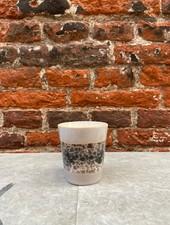 HK living Ceramic 70's Ristretto Mug  'Birch'