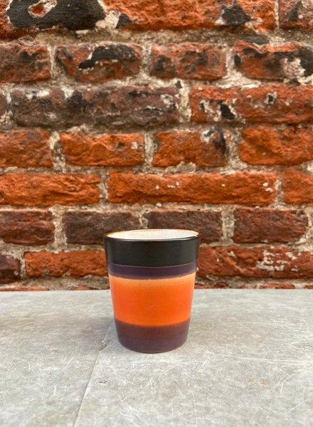 HK living Ceramic 70's Ristretto Mug  'Retro'