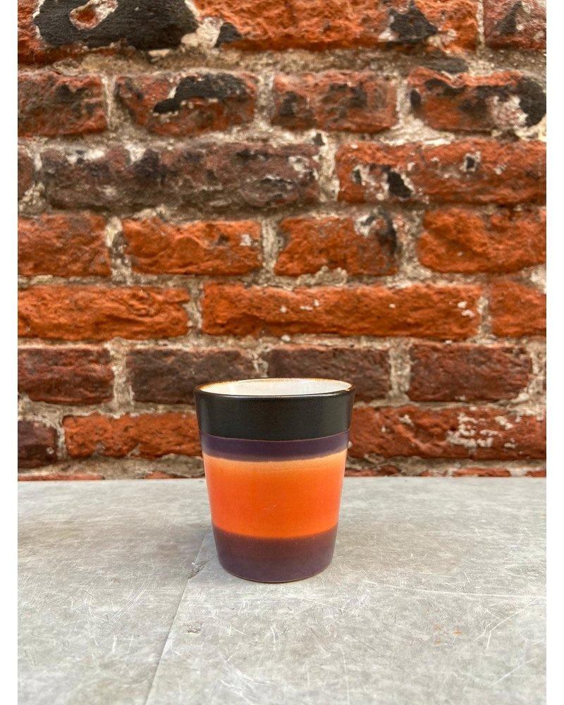 HK living HK living Ceramic 70's Ristretto Mug  'Retro'