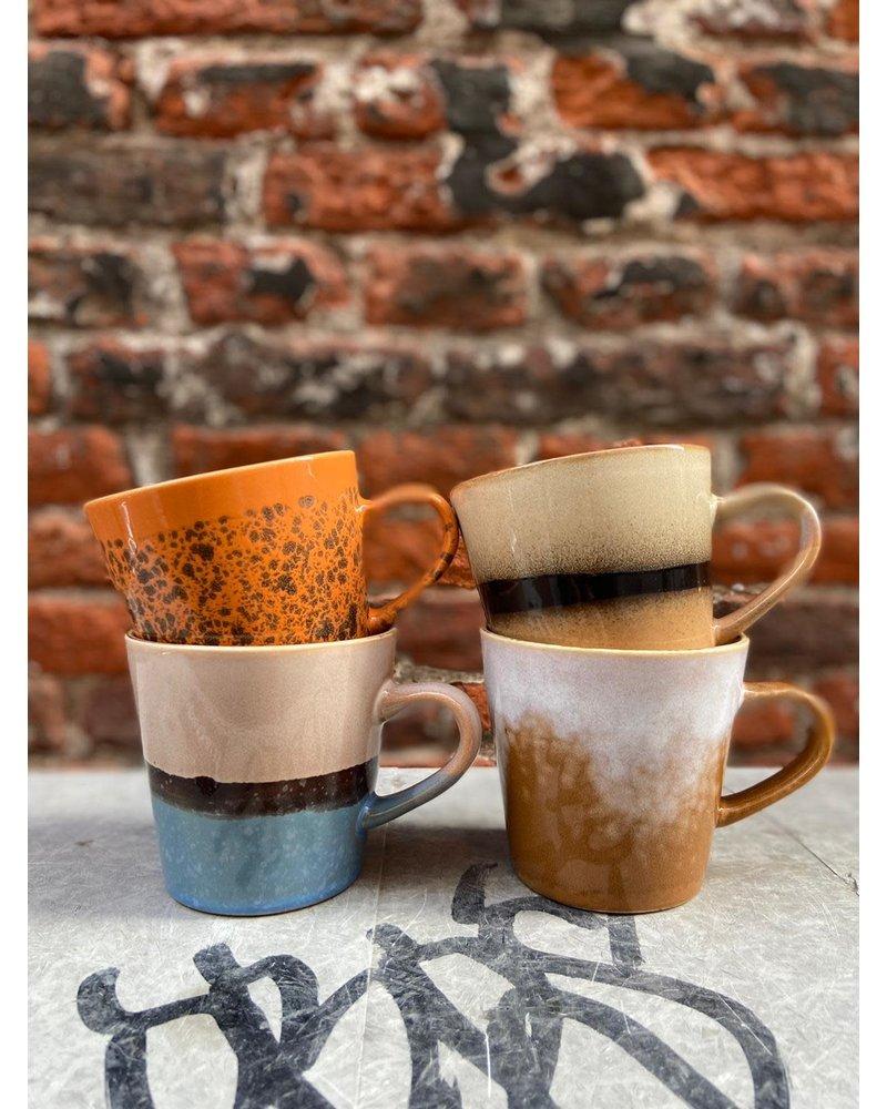 HK living HK living Ceramic 70's Americano Mug 'Sky'