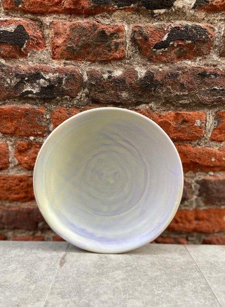 HK living Home Chef Flat Bowl 'Purple/Green'