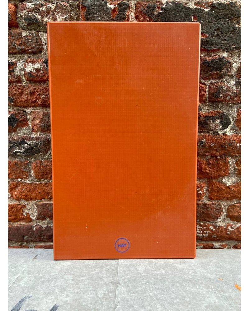 HAY HAY Chopping Board Rectangular L 'Orange'
