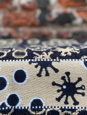 Wolbert Textiles Kitchentowel 'Bella Salmonella Black'