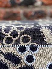 Wolbert Textiles Teatowel 'Bella Salmonella Black'