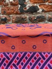 Wolbert Textiles Teatowel 'Lazy Lobster Purple'