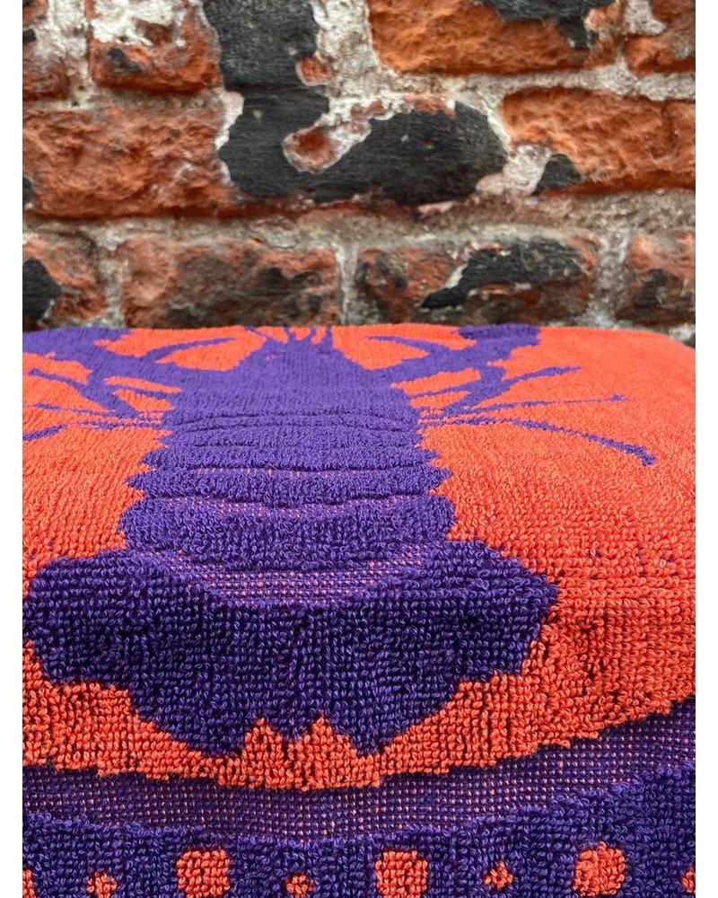 Wolbert Textiles Wolbert Textiles Kitchentowel 'Lazy Lobster Purple'