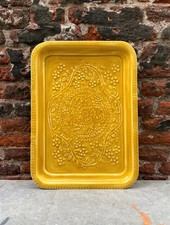 Bazar de Luxe Plateau Rectangle L Berbere 'Mustard'