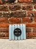 Rustik Lys Set van 6 Korte Kaarsjes 'Chalk Blue'