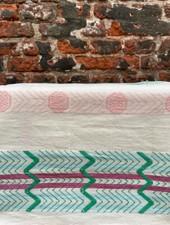 Return to sender Bindi Tea Towel 'White Print'