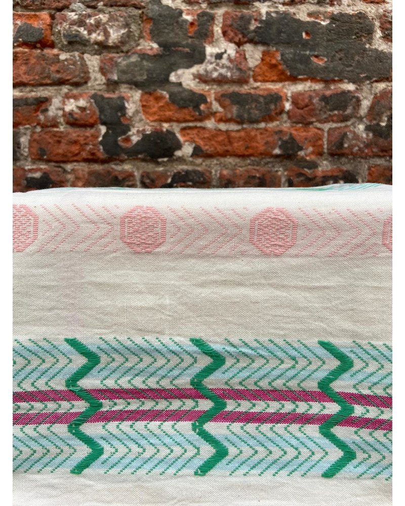 Return to sender Return to Sender Bindi Tea Towel 'White Print'