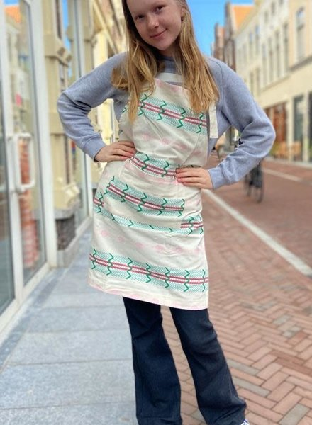 Return to sender Bindi Apron 'White'