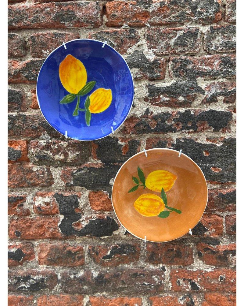 &Klevering &Klevering Plate Lemon 'Brown'