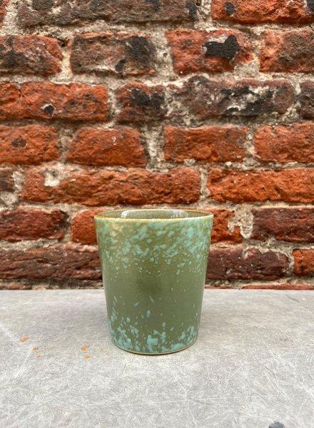 HK living Ceramic 70's Mug  'Grass'