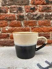 HK living Ceramic 70's Cappuccino Mug  'Rock'