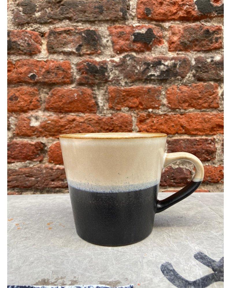 HK living HK living Ceramic 70's Cappuccino Mug  'Rock'