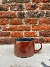 Serax Coffee Cup 'Dark Blue/Rust'