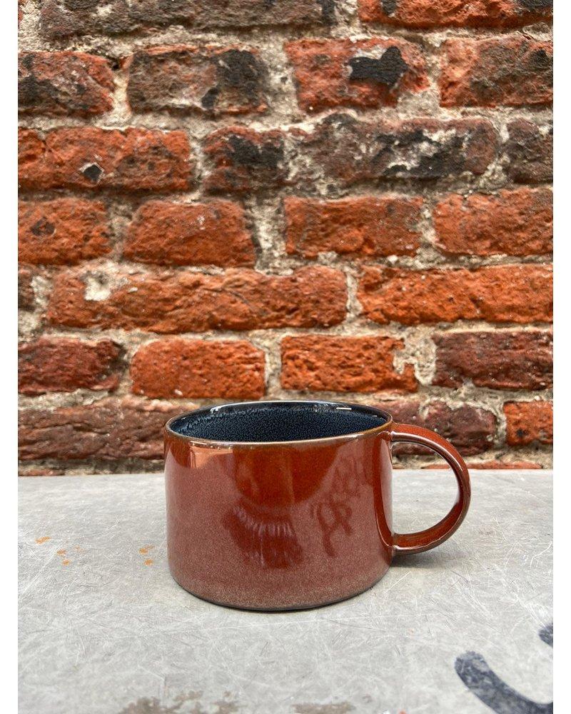 Serax Serax Coffee Cup 'Dark Blue/Rust'
