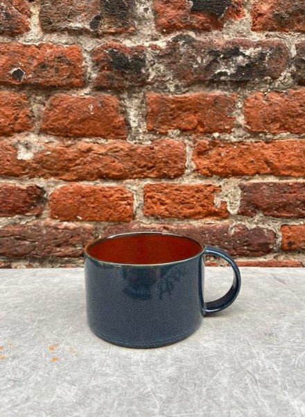 Serax Coffee Cup 'Rust/Dark Blue'