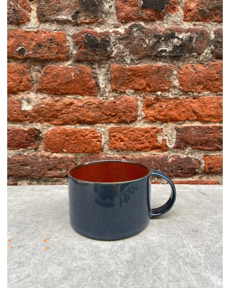 Serax Serax Coffee Cup 'Rust/Dark Blue'