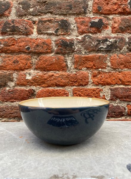 Serax Bowl M 'Misty Grey/Dark Blue'