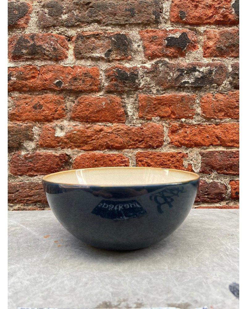 Serax Serax Bowl M 'Misty Grey/Dark Blue'