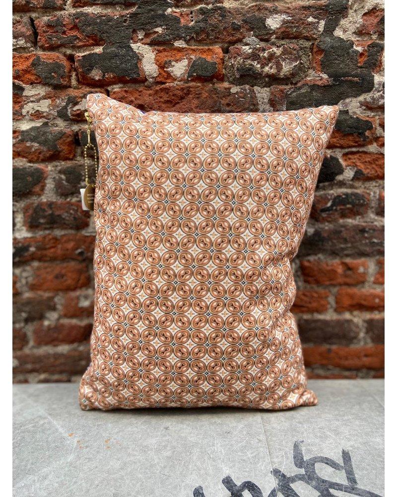 HK living HK living Doris Printed Cushion 'Purple'