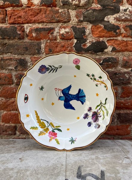 Bitossi Funky Table Salad Bowl 'Floral'