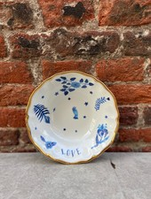 Bitossi Funky Table Bowl 'Blue Floral'