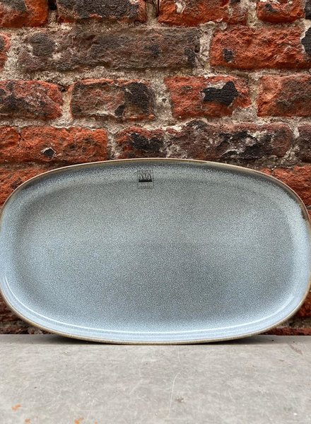 ASA Saisons Oval Plate 'Denim'