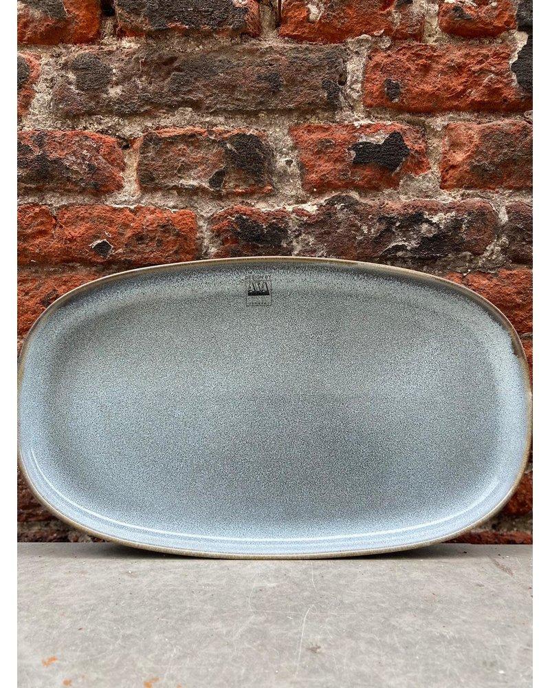 ASA ASA Saisons Oval Plate 'Denim'