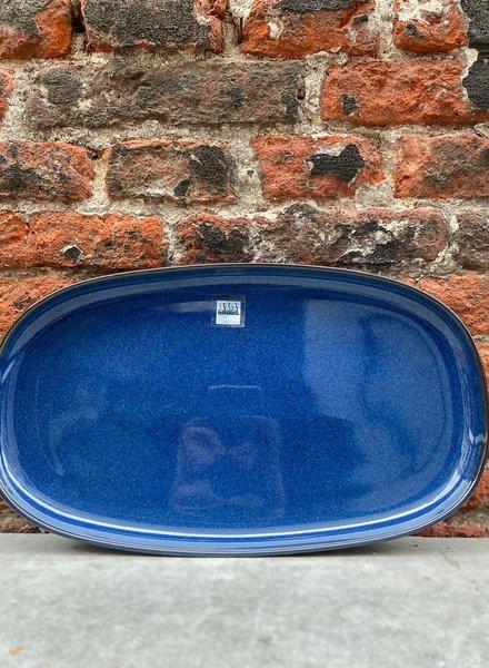 ASA Saisons Oval Plate 'Midnight Blue'