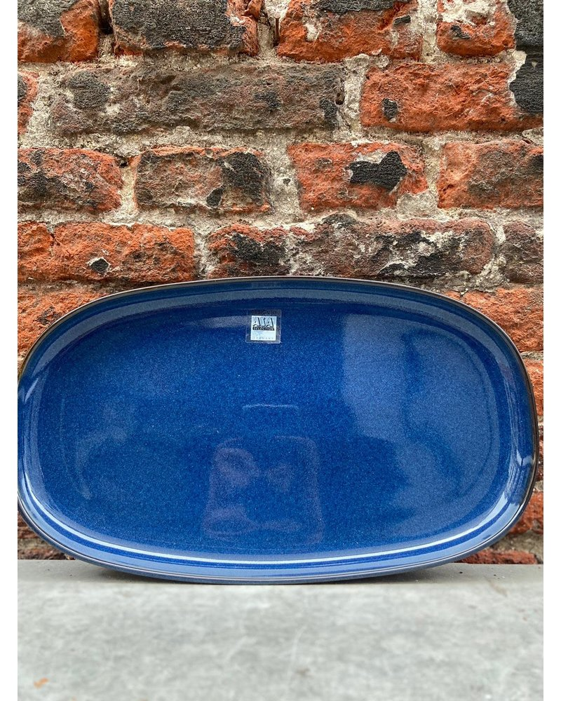 ASA ASA Saisons Oval Plate 'Midnight Blue'
