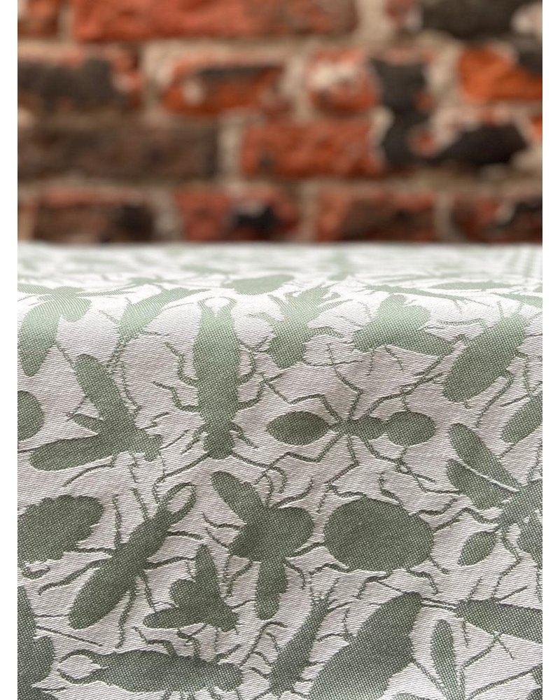 Textielmuseum Theedoek Studio Job 'Insecten Groen'
