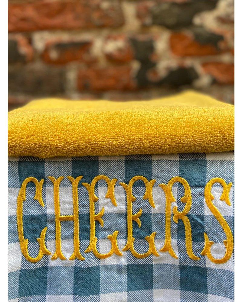 Bitossi Bitossi Funky Table Tea Towel 'Cheers'