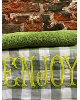 Bitossi Funky Table Tea Towel 'Enjoy'