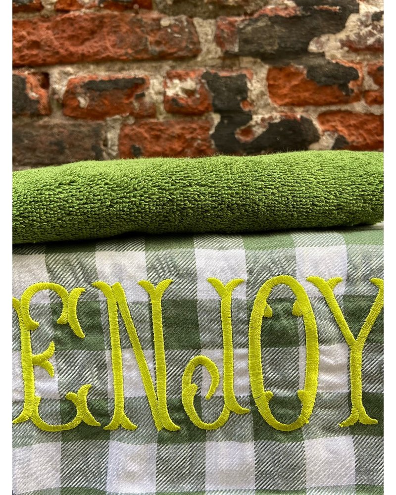 Bitossi Bitossi Funky Table Tea Towel 'Enjoy'