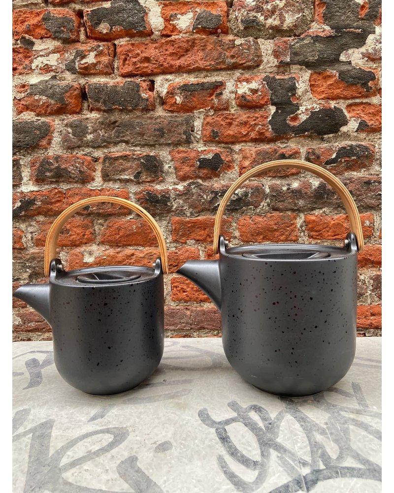 ASA ASA Coppa Teapot Wooden Handle 0,6 l 'Kuro'