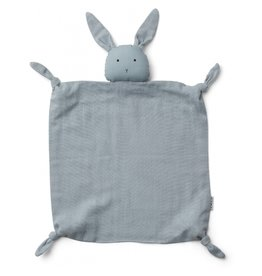 LIEWOOD Agnete Cuddle Cloth - Rabbit sea blue